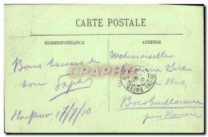 Old Postcard Honfleur Calvary