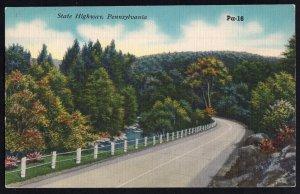 Pennsylvania State Highway - LINEN
