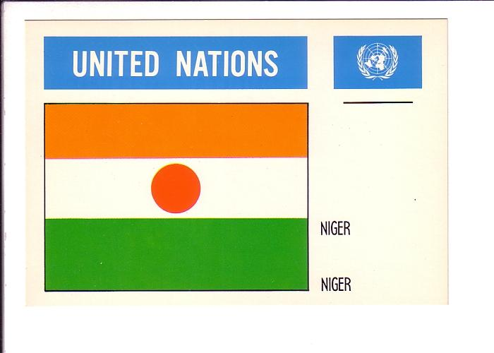 Niger, Flag, United Nations