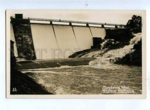 191902 WESTERN AUSTRALIA Mundaring Weir dam Vintage photo PC