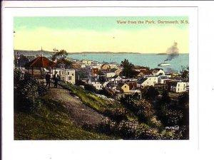 View from the Park, Dartmouth, Halifax Nova Scotia, R. Cloutier