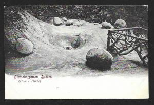 Glacial Garden Lucerne Switzerland Unused c1905