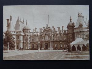 Buckinghamshire WADDESTON MANOR near Aylesbury Old Postcard by S.G. Payne & Son