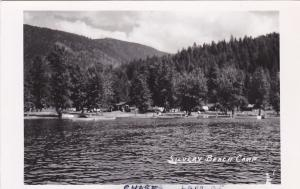 RP, View from Water of Silvery Beach Camp, Chase Lake, British Columbia,  20-40s