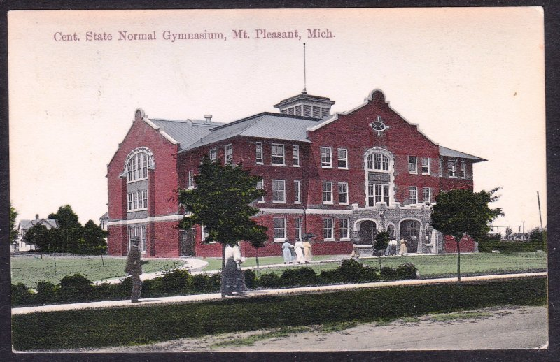 MI - Mt Pleasant - State Normal Gymnasium