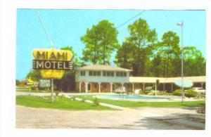 Miami Motel and Restaurant, Pearson, Georgia,40-60s