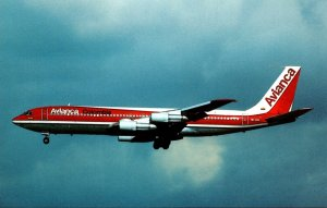 AVIANCA Boeing 707-359B At Los Angeles Intenational National