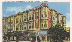 Tetley Hotel, Eight & Lime Streets, Riverside California 1938