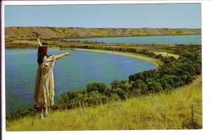 Qu'Appelle Valley Saskatchewan, Indian Maiden