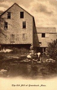 Massachusetts Greenbush The Old Mill
