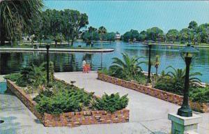 Florida Tarpon Springs Scene On The Spring Bayou 1974