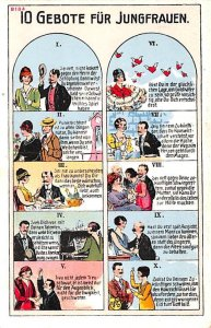 10 Gebote fur Ehefrauen Germany Unused