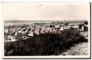 Plage de Saint Jean de Monts - Old Postcard