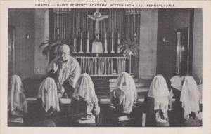 Chapel , Saint Benedict Academy , PITTSBURGH , Pennsylvania , 30-40s