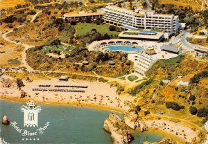 B108644 Portugal Algarve Praia dos Tres Irmaos Beach Swimming Pool real photo uk