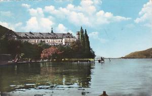 France Aix-les-Bains Abbaye de Hautecombe 1950