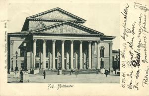 germany, MÜNCHEN, Kgl. Hoftheater, Theater (1901)