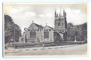 cu2466 - East End, Willouhby Chapel, St. James Church, in Spilby - Postcard