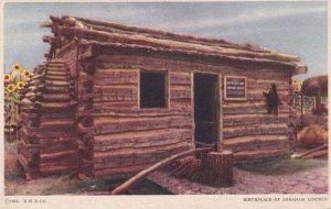 1900-1910's; Replica Of Lincoln's Birthplace