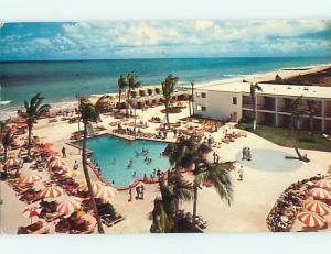 1950's CABANA CLUB MOTEL Miami Beach Florida FL s8591