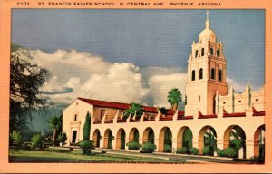 Arizona Phoenix St Francis Xavier School North Central Avenue