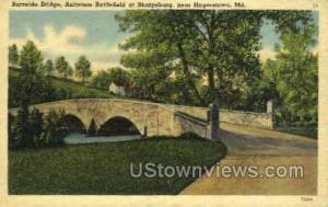 Burnside Bridge Hagerstown MD Unused