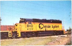 Baltimore & Ohio Railroad (Chessie System) #4122, GP40-2 at McCook, Illinois IL