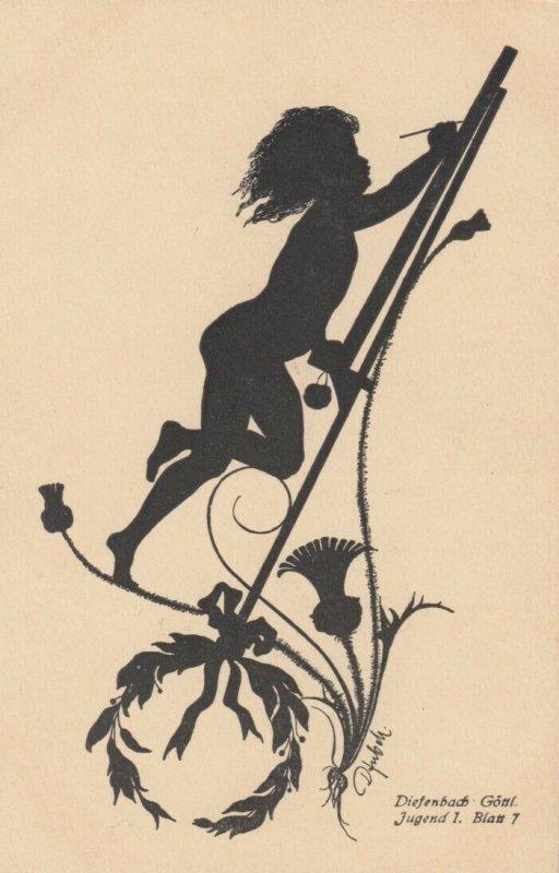 DIEFENBACH : Fantasy Silhouette , 00-10s ; Jugend I. Blatt 7