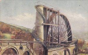 TUCK #1455; ISLE OF MAN, United Kingdom; Laxey Wheel, PU-1905