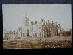 Berkshire ALDERMASTON COURT c1905 RP Postcard by H.A. King of Reading