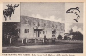 SPANISH , Ontario , Canada , 1910-30s ; Lake Huron Hotel