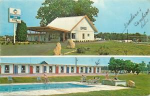 Sycamore Georgia~Congress Inn Motel~Trailers~Campers~Pool~Swingset~1968