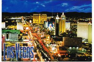 Post Card United States Nevada Las Vegas Vegas Series