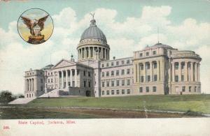 JACKSON , Mississippi , 1900-10s ; State Capitol