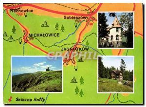 Postcard Modern Karkonosze Sniezne Kotly Rezerwat scisty