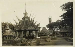 indonesia, SUMATRA, Native Batak Minangkabau Houses 20s