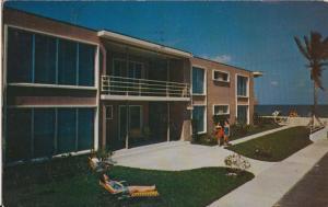 FT LAUDERDALE FL - CHESTERFIELD APTS 1950s - 725 N Atlantic / NO JEWS
