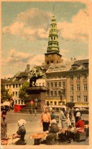 Norway Hojbro Plads Hojbro Square 1956