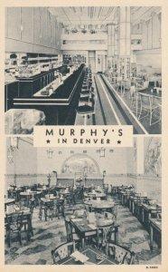 DENVER, Colorado, 1930-40s; Murphy's Fine Food