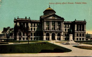 Ohio Toledo Lucas County Court House 1912