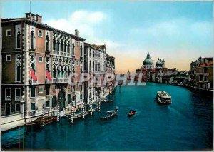 Modern Postcard Venice Grand Canal and Palazzo Franchetti