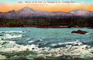 Washington Bridge Of The Gods and Cascades Of The Columbia River
