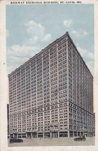 Railway Exchange Building, St. Louis, Missouri, 1910-1920s
