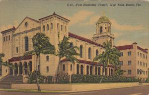 First Mmethodist Church West Palm Beach Florida Curteich