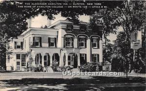 Alexander Hamilton Inn Clinton NY 1967