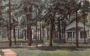 Gouverneur New York~Dodge's Grove~Old Land Office in Trees~1911 Postcard