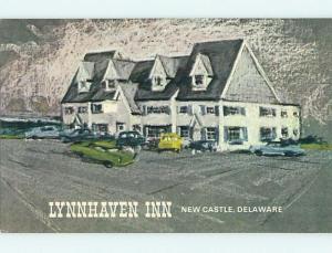 Unused Pre-1980 LYNNHAVEN INN MOTEL New Castle Delaware DE s2432