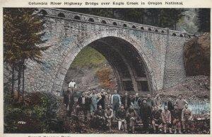 Columbia River Bridge , Eagle Creek , Oregon , 1910s