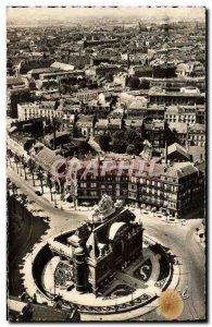 Modern Postcard Lille View Sinking of the Porte de Paris
