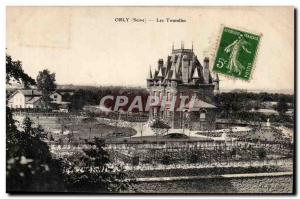 Orly Old Postcard The Turrets